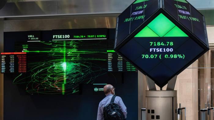 การออกรางวัลหวยหุ้นอังกฤษ ที่ชื่อหุ้นว่า FTSE 100 index